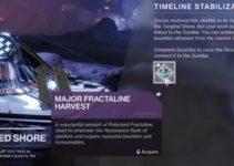 How To Get Major Fractaline Harvest – Destiny 2 Season of Dawn