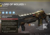 How To Get The Lord of Wolves Catalyst – Destiny 2