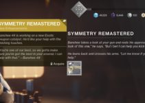 How To Get The Symmetry Exotic Catalyst – Destiny 2