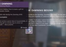 How To Get Cold Front SMG – The Dawning Destiny 2 2020