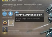 How To Get Trinity Ghoul Catalyst – Destiny 2