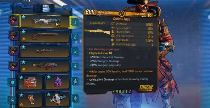 How To Get Critical Thug in Borderlands 3